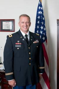 Col. Keith Wagner, PharmD, RPh, who is Director of Pharmacy at Dwight David Eisenhower Army Medical Center
